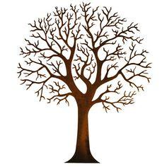 Round Tree Wall Art