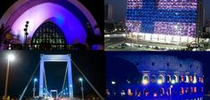white-blue lights honor 100-year-old Finland in 30 countries on Dec. 6, 2017