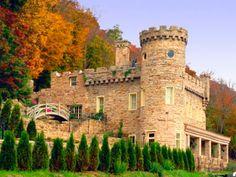 Berkeley Springs Castle.