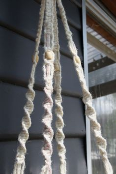 DIY Bohemian Macrame Plant Hanger - hanger straps