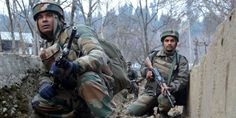 A gunfight erupted between security forces and militants in north Kashmir's Ganderbal district. #gunfight #Kashmir #BSF #militants