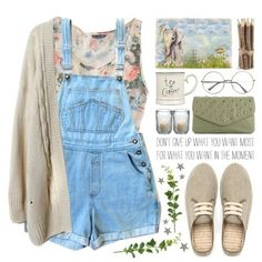 I do actually really like this. It looks like a comfortable summer outfit that might also be nice to garden in