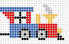 37 train beads patterns