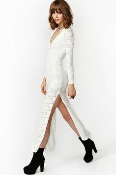 Louisa Lace Maxi Dress