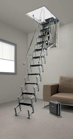 Best Foldable Stairs Amazing Folding Attic Stairs Cool Stuff Attic Stairs Attic Ladder Attic 400 x 300