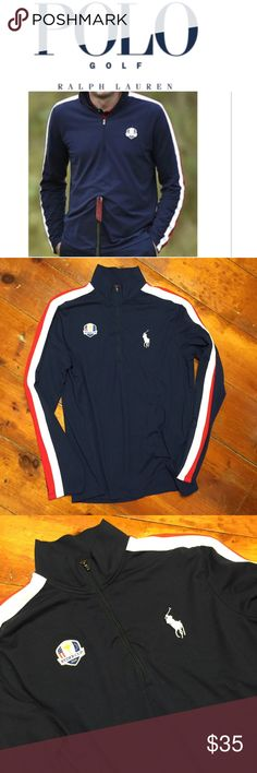 RL Polo Golf Ryder Cup 2014 1/4 Zip Pullover Great condition and fit. No visible signs of wear. Please review pictures.   Size: Large Polo Golf by Ralph Lauren Shirts