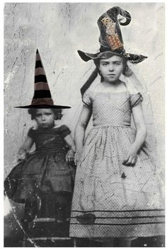 Little Cary The Witch Resented Wearing A Hat That Looked Like Candy Corn