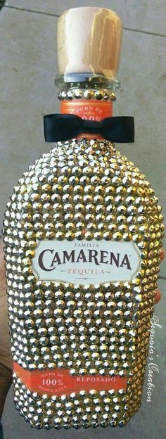 Check out this item in my Etsy shop https://www.etsy.com/listing/495139916/bling-liquor-bottle-camarena-tequila