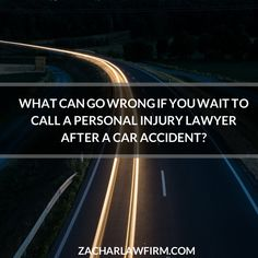 Sometimes The Accident Is Only The Beginning: What Can Go Wrong If You Wait To Call A Personal Injury Lawyer?   Keep Reading: - http://www.zacharassociates.com/motor-vehicle-accidents/arizona-car-accident-attorneys-because-sometimes-the-accident-is-just-the-beginning/