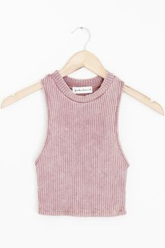 """- Details - Size - Shipping - • 61% Polyester 33% Rayon 6% Spandex • Ribbed stone washed high neck crop top • Hand Wash • Line dry • Made in the U.S.A • Measured from small • Length 15"""" • Chest 10"""" -"""