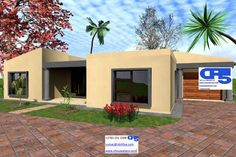 A AAHouse Plan No W1896 Flat Plan, Modern Style Homes, Best Flats, Bathroom Storage, Ground Floor, House Plans, Living Spaces, Gardens, Mansions