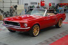 1967 Mustang convertible from Overhaulin'