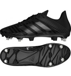 huge discount 08547 2b0ca Adidas Malice SG Rugby Boot in Core Black Football Cleats, Adidas Football,  Football Shoes