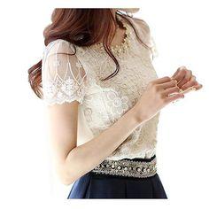 64e499cf51f86 Vetement femme chiffon blouse with embroidery blusas roupas femininas 2017  3xl plus size women blouses top