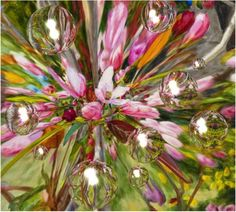 The Flower Wish Painting  - The Flower Wish Fine Art Print