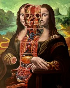 Mona Lisa - slices