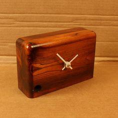Viktor Desk Clock Burnt Umber, $72, now featured on Fab.