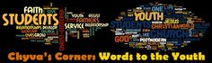Blog: Chyva's Corner - Words to the Youth - A 5 part youth blog on issues that are common to all young adults. Rockville Centre, Respect Life, Human Dignity, Low Self Esteem, Young Adults, One Life, Youth, Corner, Words