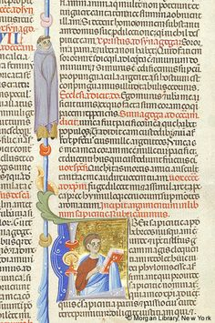 Bible, MS M.436 fol. 226r - Images from Medieval and Renaissance Manuscripts - The Morgan Library & Museum