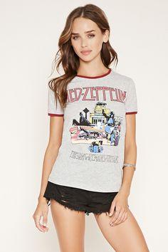 Led Zeppelin Ringer Tee   Forever 21 - 2000152902
