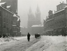 Winter Prague by J.Lauschmann