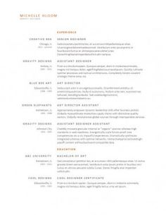 Free Resume Templates In Word Format  Free And Hundreds To