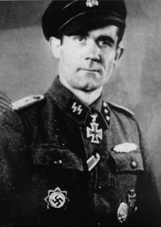 Hermann Maringgele (November 29, 1911 – July 21, 2000) was a Untersturmführer (Second Lieutenant) in the Waffen-SS during World War II.He was also one of only 631 men to be awarded the very rare Close Combat Clasp in Gold.The clasp was awarded for 50 battles of hand-to-hand or close combat. Maringgele is recorded having served in 84 battles of close combat, more than any other member of the German Armed Forces during WW2.
