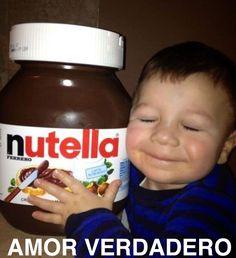 #True #Love #Amor #Verdadero #Nutella #Saltillo #Monchis