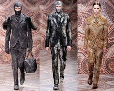 6.Alexander MacQueens mens Fall Winter 2010 Ditto suit concept