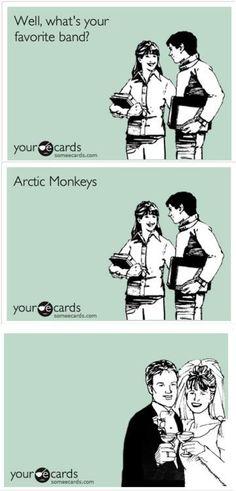 gotta love arctic monkeys
