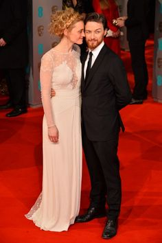 Anne-Marie Duff And James McAvoy At The BAFTAs 2015