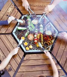 Table Barbecue Jag Grill