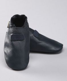 Another great find on #zulily! Navy Leather Booties by Boumy #zulilyfinds