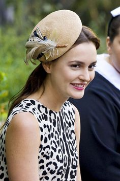 Blair Waldorf dress hat