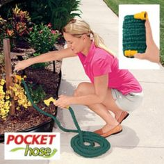 Expandable Pocket Hose Ultra - Available in 25FT, 50FT or 100FT New and Improved
