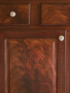 Faux Wood Grainkwilson Mahogany