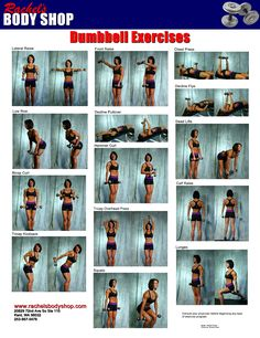 Best Biceps Exercises for Women: At home dumbbell biceps workout tips and exercises to strengthen and tone the upper arm muscles.