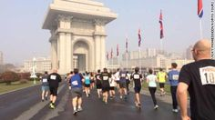 North Korea has announced that foreign runners have been banned from participating in the Pyongyang marathon over Ebola concerns.
