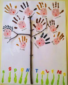 """Mauriquices: A árvore com os """"rebentos"""" do nosso Jardim!"""