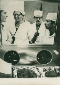 Apollo 15 Astronauts NASA Research Lab old Photo 1971