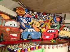 Disney Cars Styro Backdrop