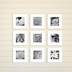 New Gallery Perfect Gallery Wall Kit Square Photos Hanging Template Picture Frame Set, 8 x 8 , White, 9 Piece online - Totoppremium White Picture Frames, Picture Frame Sets, Picture Wall, Photo Wall, White Frames, Gallery Wall Frames, Frames On Wall, Art Gallery, Gallery Walls