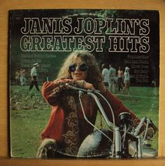 JANIS JOPLIN Greatest Hits - Vinyl LP Ball and Chain Move over Piece of my Heart: This is the album that stole my heart!!  I still remember listening to it the very first time..