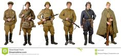 Different Soviet Soldier Uniforms - Download From Over 44 Million High Quality Stock Photos, Images, Vectors. Sign up for FREE today. Image: 50144487