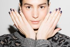 Cool Essie nails for Wes Gordon FW 2015 by Rita Remark