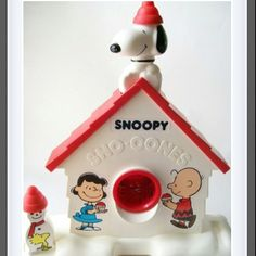 Snoopy Snow Cone machine.