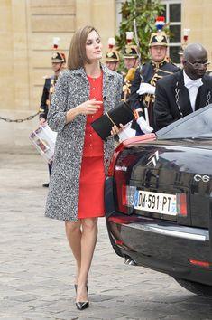 Queen Letizia of Spain Photos - King Felipe Of Spain and Queen Letizia Of Spain On Official Visit In France : Day 2 - Zimbio