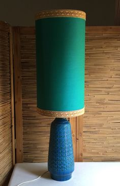 Huge Vintage 50s Bitossi Londi Rimini Raymor Pottery Lamp Original Shade Italy in VIC   eBay
