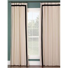 Sliding Door Curtains, Curtains With Blinds, Sliding Glass Door, Glass Doors, Blackout Curtains, Sliding Doors, Fresh Living Room, Elegant Living Room, Living Rooms