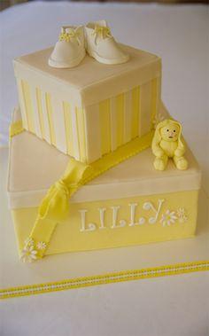 #baby #kids #babyshower #babyshowers #cake #cakes #yellow